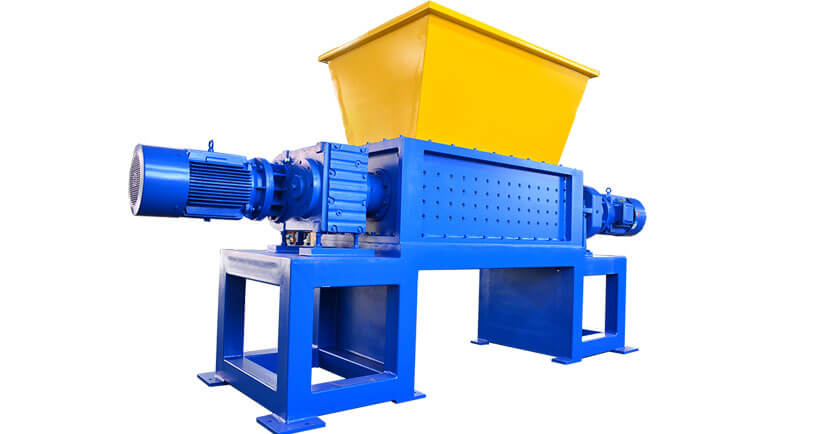 Equipment Lease Recycling recycling double shaft shredder
